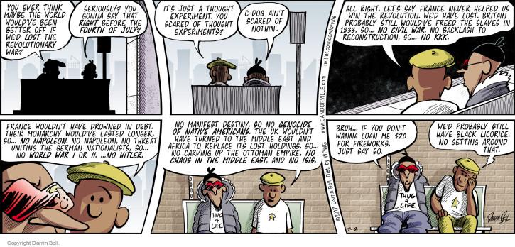 The revolutionary war comic strip