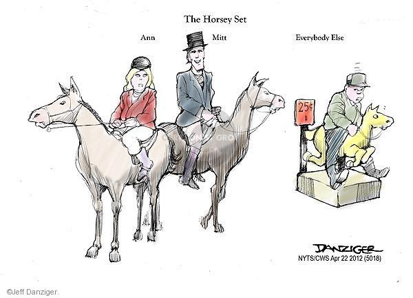 The Horsey Set. Ann. Mitt. Everybody Else. 25 cents.