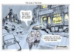 Cartoonist Jeff Danziger  Jeff Danziger's Editorial Cartoons 2010-10-05 climate