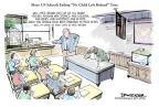 Cartoonist Jeff Danziger  Jeff Danziger's Editorial Cartoons 2011-04-04 teacher