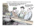 Cartoonist Jeff Danziger  Jeff Danziger's Editorial Cartoons 2013-02-03 beer