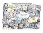 Cartoonist Jeff Danziger  Jeff Danziger's Editorial Cartoons 2013-08-11 beer