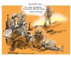 Cartoonist Jeff Danziger  Jeff Danziger's Editorial Cartoons 2014-01-12 American History