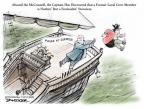 Cartoonist Jeff Danziger  Jeff Danziger's Editorial Cartoons 2014-03-11 election