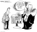Cartoonist John Deering  John Deering's Editorial Cartoons 2009-02-09 conservative media