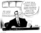 Cartoonist John Deering  John Deering's Editorial Cartoons 2009-04-06 breaking news