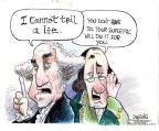 Cartoonist John Deering  John Deering's Editorial Cartoons 2012-08-09 George Washington