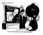 Cartoonist John Deering  John Deering's Editorial Cartoons 2012-09-28 supreme