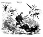Cartoonist John Deering  John Deering's Editorial Cartoons 2013-10-11 World War II