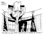 Cartoonist John Deering  John Deering's Editorial Cartoons 2014-02-15 president