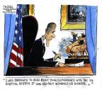 Cartoonist John Deering  John Deering's Editorial Cartoons 2014-05-22 president