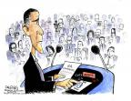 Cartoonist John Deering  John Deering's Editorial Cartoons 2014-05-30 president