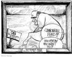 Cartoonist John Deering  John Deering's Editorial Cartoons 2007-09-05 art
