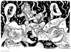 Cartoonist John Deering  John Deering's Editorial Cartoons 2008-03-06 campaign