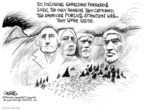 Cartoonist John Deering  John Deering's Editorial Cartoons 2008-03-17 George Washington