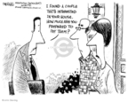Cartoonist John Deering  John Deering's Editorial Cartoons 2008-07-01 real estate