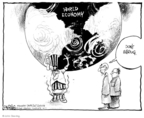 Cartoonist John Deering  John Deering's Editorial Cartoons 2008-07-17 international crisis