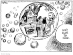Cartoonist John Deering  John Deering's Editorial Cartoons 2008-09-26 real estate