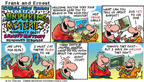 Cartoonist Bob Thaves Tom Thaves  Frank and Ernest 2002-02-03 honesty