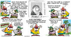 Cartoonist Bob Thaves Tom Thaves  Frank and Ernest 2002-07-28 honesty
