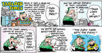 Cartoonist Bob Thaves Tom Thaves  Frank and Ernest 2004-01-11 herd