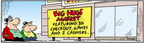 Cartoonist Bob Thaves Tom Thaves  Frank and Ernest 2004-11-17 food store