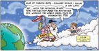 Cartoonist Bob Thaves Tom Thaves  Frank and Ernest 2005-01-02 delay