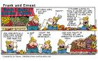 Cartoonist Bob Thaves Tom Thaves  Frank and Ernest 2000-07-16 bachelor