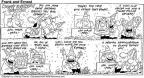 Cartoonist Bob Thaves Tom Thaves  Frank and Ernest 1992-02-16 birthday