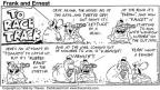 Cartoonist Bob Thaves Tom Thaves  Frank and Ernest 1996-01-28 animal