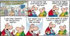 Cartoonist Bob Thaves Tom Thaves  Frank and Ernest 2012-04-01 global