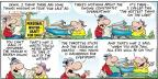 Cartoonist Bob Thaves Tom Thaves  Frank and Ernest 2013-05-12 write