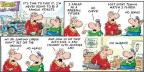 Cartoonist Bob Thaves Tom Thaves  Frank and Ernest 2014-04-20 straight
