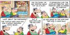 Cartoonist Bob Thaves Tom Thaves  Frank and Ernest 2014-05-18 Noah's Ark