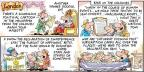 Cartoonist Bob Thaves Tom Thaves  Frank and Ernest 2014-07-06 newspaper
