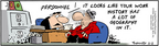Cartoonist Bob Thaves Tom Thaves  Frank and Ernest 2005-11-02 geography