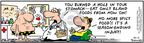 Cartoonist Bob Thaves Tom Thaves  Frank and Ernest 2007-10-11 spicy