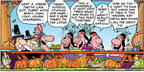 Cartoonist Bob Thaves Tom Thaves  Frank and Ernest 2006-11-19 Thanksgiving
