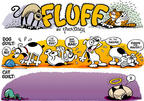 Cartoonist Nina Paley  Fluff 1998-03-15 bad dog