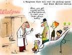 Cartoonist Gustavo Rodriguez  Garrincha's Editorial Cartoons 2012-03-30 baseball fan