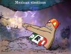 Cartoonist Gustavo Rodriguez  Garrincha's Editorial Cartoons 2012-06-13 Mexican