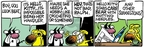 Cartoonist Mike Peters  Mother Goose and Grimm 2008-04-12 attack