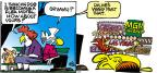Cartoonist Mike Peters  Mother Goose and Grimm 2011-12-11 past