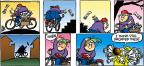 Cartoonist Mike Peters  Mother Goose and Grimm 2012-03-04 newspaper delivery