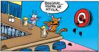 Cartoonist Mike Peters  Mother Goose and Grimm 2013-09-01 hairball