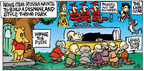 Cartoonist Mike Peters  Mother Goose and Grimm 2014-08-03 Russia
