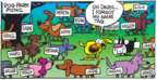 Cartoonist Mike Peters  Mother Goose and Grimm 2018-04-08 dog park