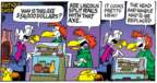 Cartoonist Mike Peters  Mother Goose and Grimm 2019-02-03 head
