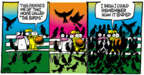 Cartoonist Mike Peters  Mother Goose and Grimm 2019-10-27 attack