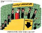 Cartoonist Lee Judge  Lee Judge's Editorial Cartoons 2010-05-20 graduation